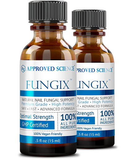 Fungix ingredients bottle